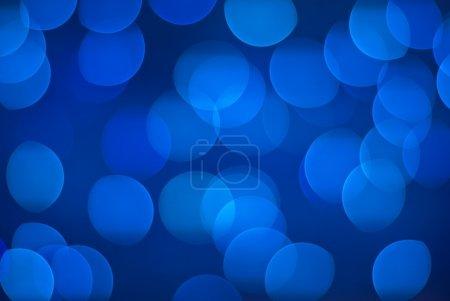 Defocus background - blue lights.