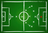 Football positions Teamwork strategy