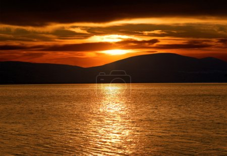 Photo for Beautiful and Colorful Sunset - Royalty Free Image