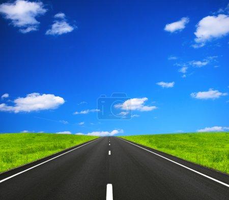 Photo pour Ouvrir la route - image libre de droit