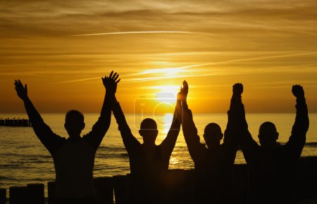 Photo pour Unité et force - image libre de droit