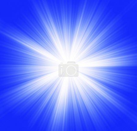 Foto de Estallido de estrellas en azul - Imagen libre de derechos