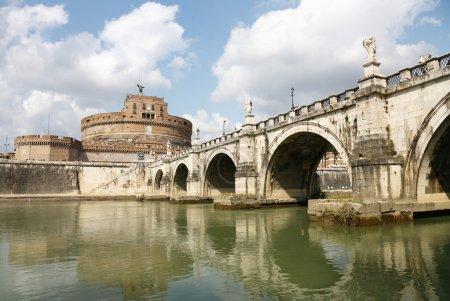 Bridge and Castle Sant Angelo,Roma