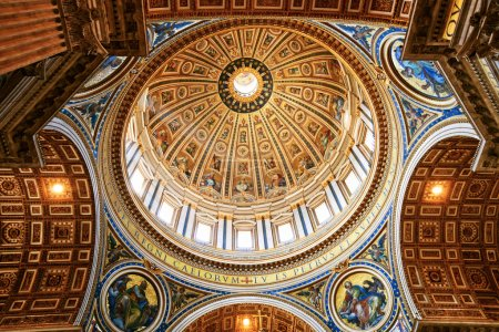 Photo pour Basilique Saint-Pierre, vatican city - image libre de droit