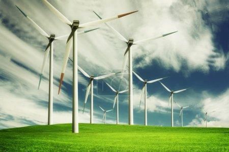 Windmill, eco energy