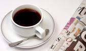 Coffee and news