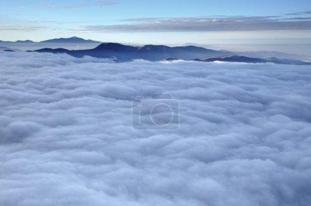 Misty clouds