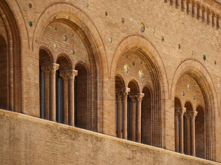 Romanesque architecture in parma italy