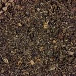 Background of fine fertiliser type soil macro shot...