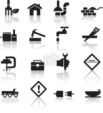 Construction and diy icon set