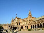 Plaza de espana, à Séville, Espagne