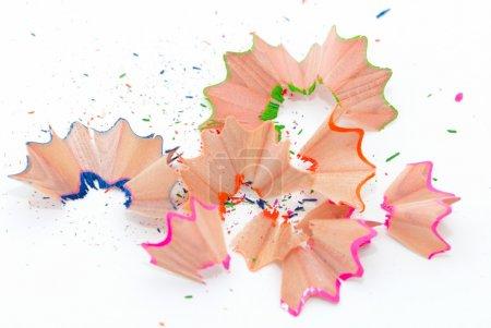 Photo pour Rasoirs au crayon sur fond blanc - image libre de droit