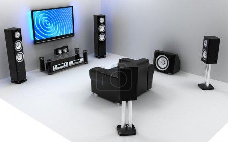Salle audio et vidéo