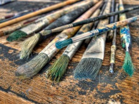pinceles de pintor
