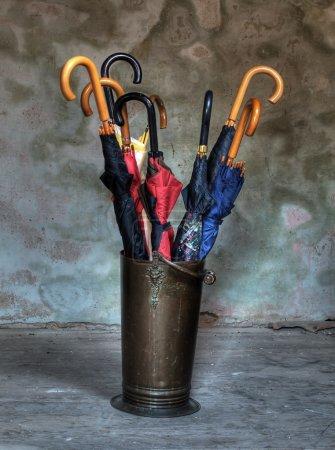 Rack for umbrellas