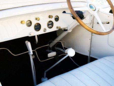 An old cockpit