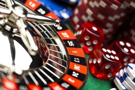 In the casino, Roulette