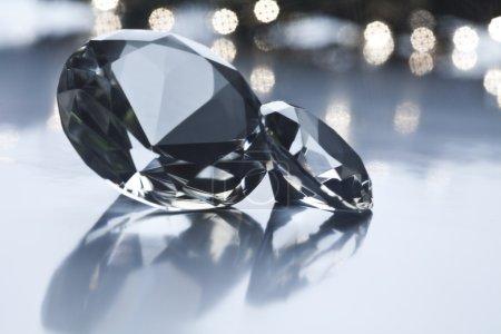 Diamond - a hard stone