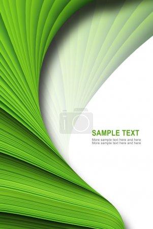 Photo pour Fond vert, abstraite et intéressant. - image libre de droit