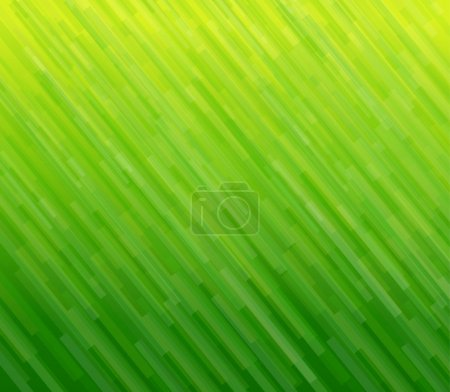 Illustration for Abstract background green lines pattern, texture. Vector illustration. - Royalty Free Image