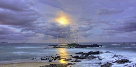 Beach Moonscape