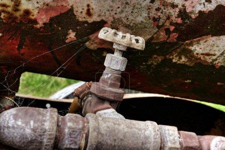 Oil drum tap