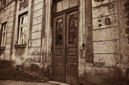 Foto de Apartamento Casa - retro estilizado foto - Imagen libre de derechos