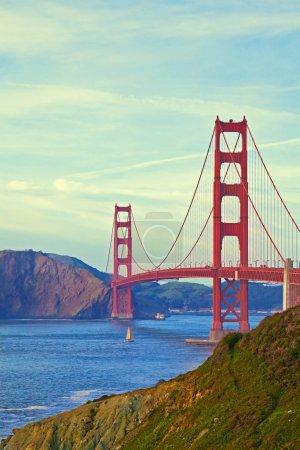 Photo pour Golden gate bridge en San Francisco, Californie. - image libre de droit