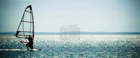 Windsurfer panorama