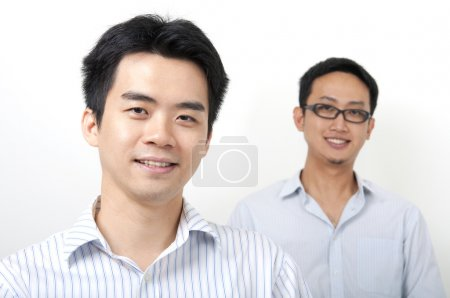 Photo for Two Asian young executives - Royalty Free Image