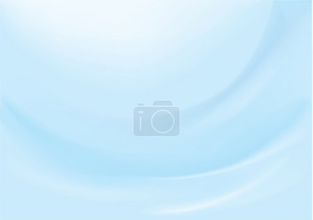 Smooth vector blue background