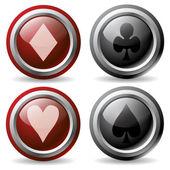 Poker Buttons