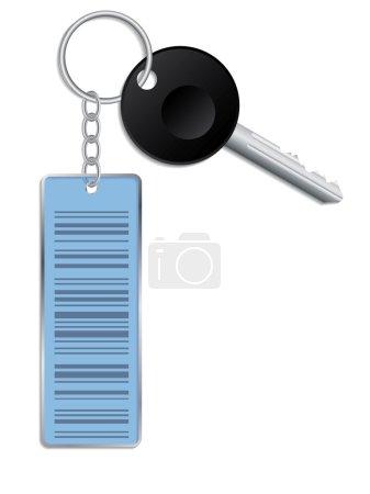 Barcode access key