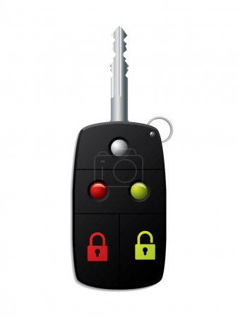 Car key and remote 2 in 1