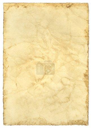 Photo pour Extra grand grunge antique texture de papier - image libre de droit