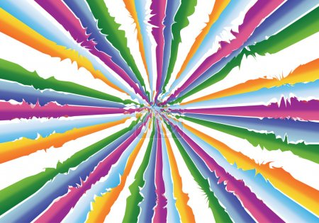 Photo for Much colors illustration background - Royalty Free Image
