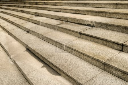 Photo for Stone stair with steps in outside of city. - Royalty Free Image