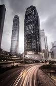 City skyline in Hong Kong