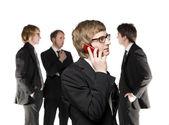 Man on the phone