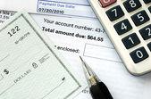 írjon egy ellenőrzés, hogy fizet a számlák időben