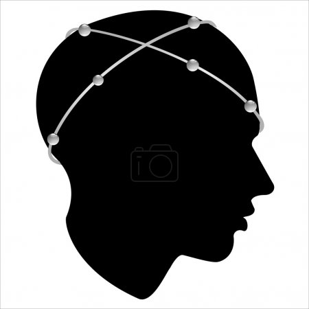 Man profile head