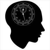 Stopwatch of the human mind