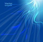 Blue background Vector illustration