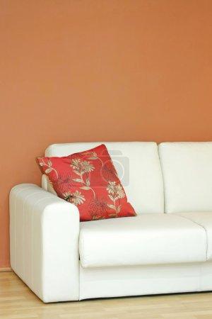 Part of sofa