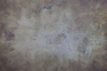 Photo for Grunge background - scratched, stained and dusty metal (steel) sheet - Royalty Free Image