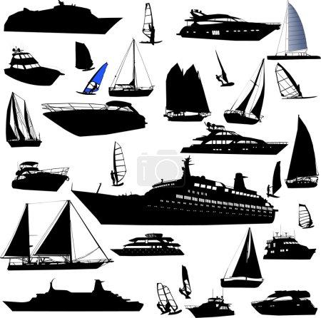 Collection of sea tranportation