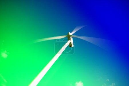 Wind energy turbine power station