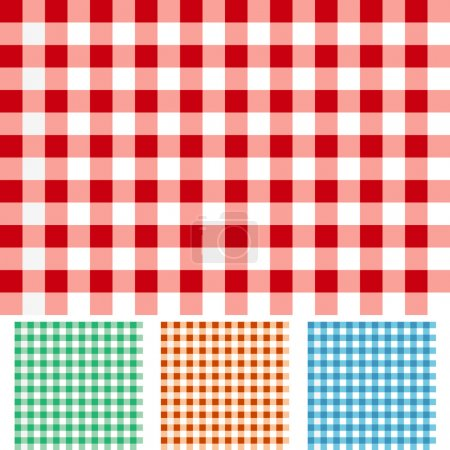 Illustration for Checker Patterns - Royalty Free Image