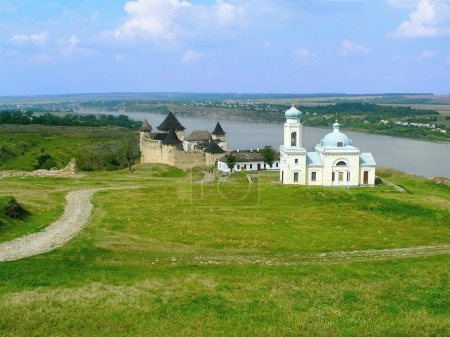 Khotyn Fortress and church