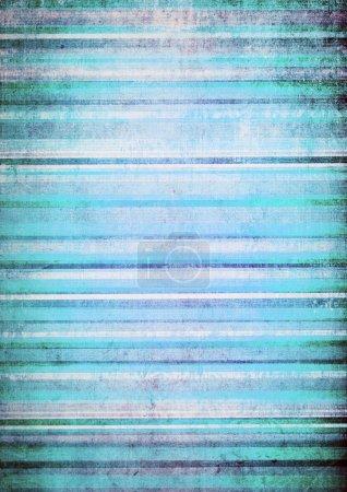 Photo pour Illustration des lignes bleues horizontales - image libre de droit